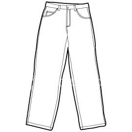 printable jeans template 301 moved permanently