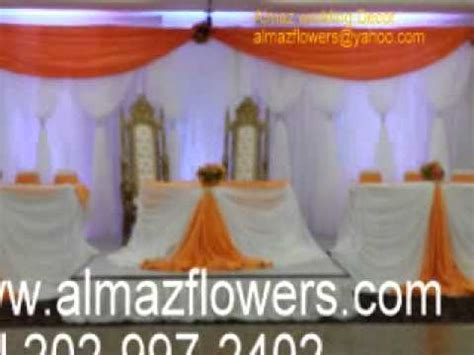 Almaz wedding decor, Habesha Eritrean/Ethiopian wedding