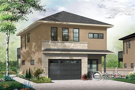 Large Garage Apartment Plans by W3954 V2 Contemporary Style Garage Apartment House Plan