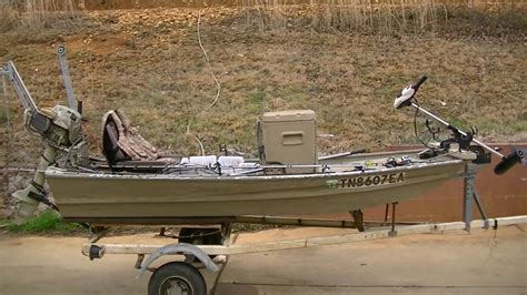 10ft jon boat for duck hunting best 10 foot jon boat setup ever youtube