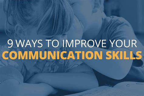 7 Inexpensive Ways To Express Your For Somebody by Explore 9 Ways To Improve Communication Skills