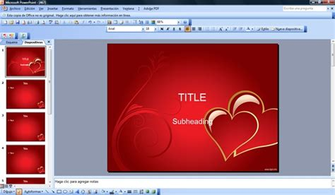 17 Best Images About St Valentine S Powerpoint Templates On Pinterest Powerpoint Slide Free Template Powerpoint 2007