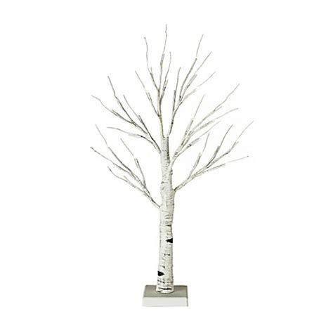 light up twig branches stand 2 foot hand painted led birch branch light up tree in