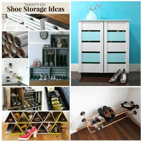 Handmade Storage Ideas - 20 diy shoe storage ideas moment