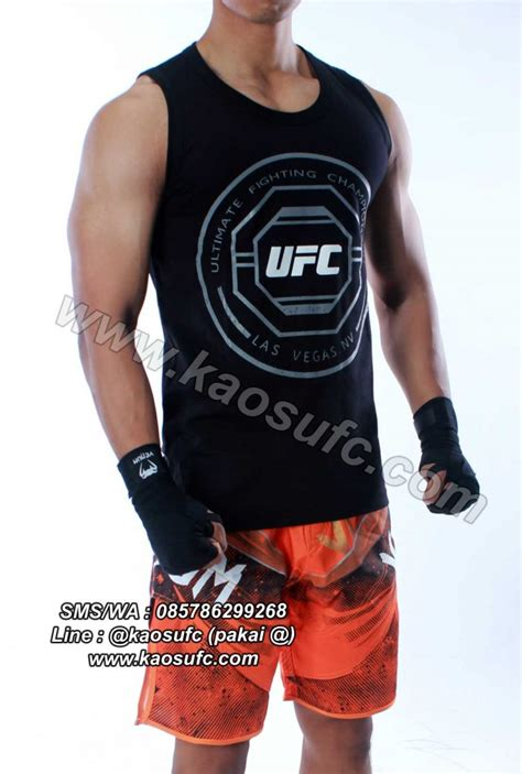 Kaos Distro Beladiri Muaythai The Ultimate Fighting jual singlet ufc ultimate fighting chionship kaosufc