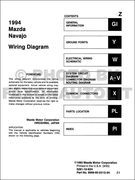car owners manuals free downloads 1994 mazda rx 7 electronic valve timing service manual download car manuals pdf free 1994 mazda navajo security system 1997 infiniti
