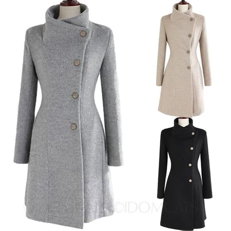 winter coat 2016 winter macs vintage upright collar belted jacket trench coat size ebay