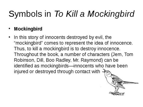 a theme of to kill a mockingbird symbols in to kill a mockingbird innocence references