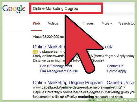 tutorial internet marketing gratis how to learn internet marketing 9 steps with pictures