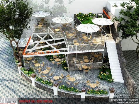 thiet ke design quan cafe thiết kế qu 225 n cafe roooock apdesign thực hiện