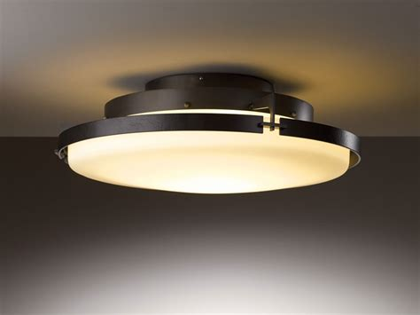 lighting fixtures ceiling hubbardton forge 126747d metra 24 3 quot wide led ceiling