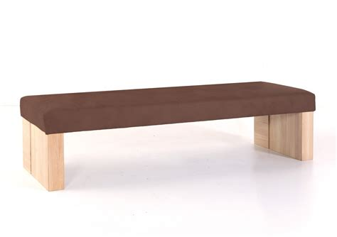 Gestell Sitzbank hochwertige sitzbank ohne lehne polsterbank massivholz