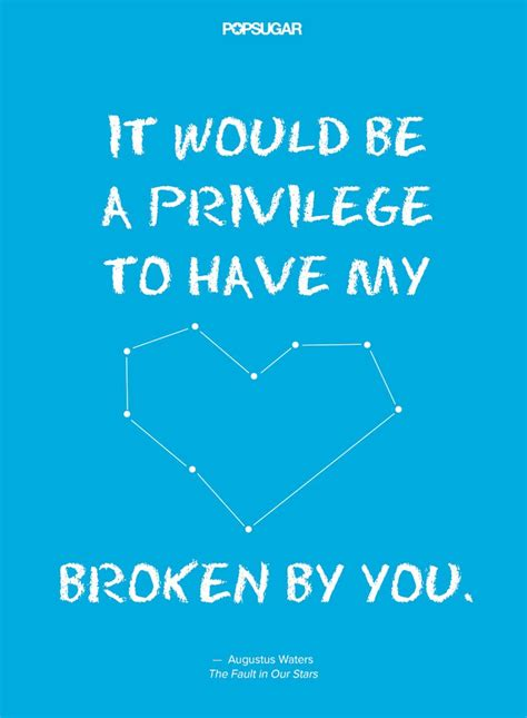 theme quotes in the fault in our stars the best quotes from the fault in our stars popsugar