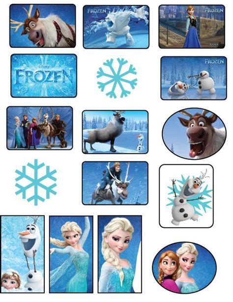 printable stickers frozen frozen stickers printable frozen party for kids