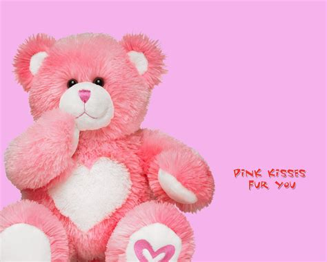wallpaper pink teddy bear teddy bear pink wallpaper wide hd 641288 7651 wallpaper