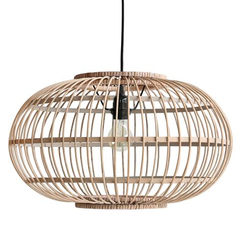 bamboo hanging ceiling light in finish ceiling