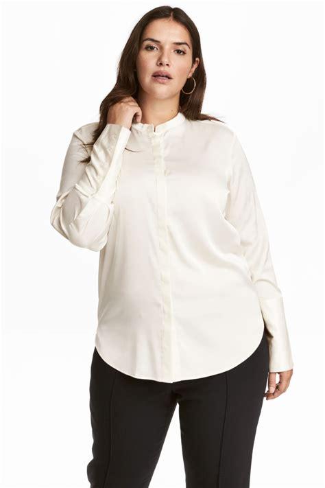 Hm Blouse White h m satin blouse white sale h m us