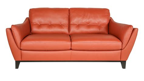 Terracotta Leather Sofa S Furniture Living Rooms