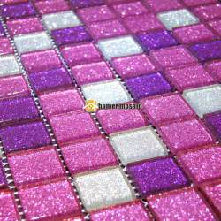 Green Kitchen Backsplash Tile purple mosaic tile promotion shop for promotional purple