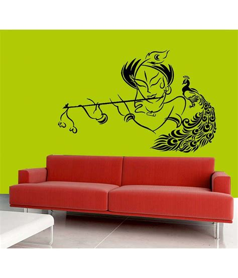 designer wall stickers mesleep god design black wall sticker buy mesleep god design black wall sticker at best