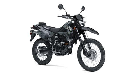 2018 dual sport motorcycles 2018 klx 174 250 camo dual purpose motorcycle by kawasaki