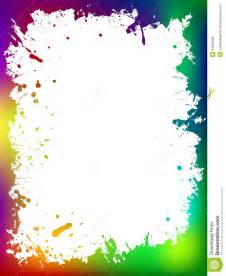 the gallery for gt colorful ink splatter border