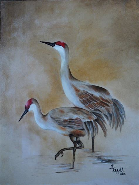 crane painting painting nancyterrill