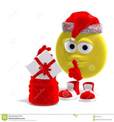 christmas emoticons cool and emoticon for stock illustration illustration 11457114