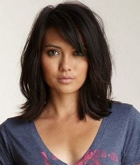 shoulder sweeping bob hair pics 17 best ideas about side swept bangs on pinterest side
