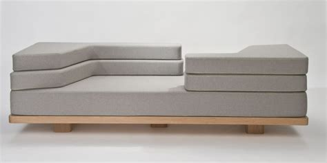 s shaped sofa vary configurable modular foam sofa by nina bruun homeli