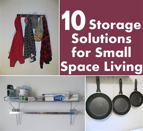 10 storage solutions for small space living diy home things
