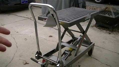 harbor freight lift table lawn mower lift table harbor freight 100 images