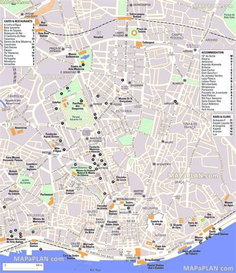 printable map lisbon image gallery lisbon street map