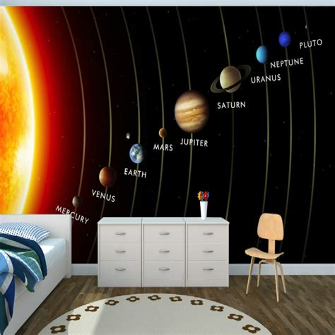 bedroom solar system compare prices on solar wallpaper online shopping buy low price solar wallpaper at
