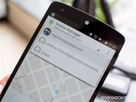 app manager for android android device manager app now lets guests temporarily track their lost phones android central