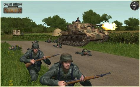 Gamis Combad combat mission battle for normandy hyper detailed