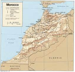map in free morocco maps