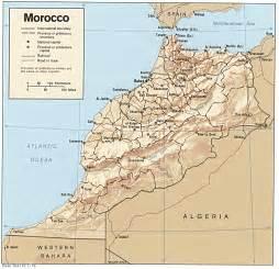 free morocco maps