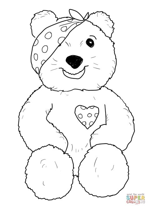 pudsey template printables pudsey sitting coloring page free printable
