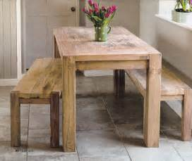 Bench Tables For Kitchen Rustic Kitchen Table For The Home