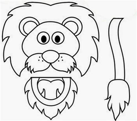 animal puppet templates free coloring pages of animal paper bag puppets