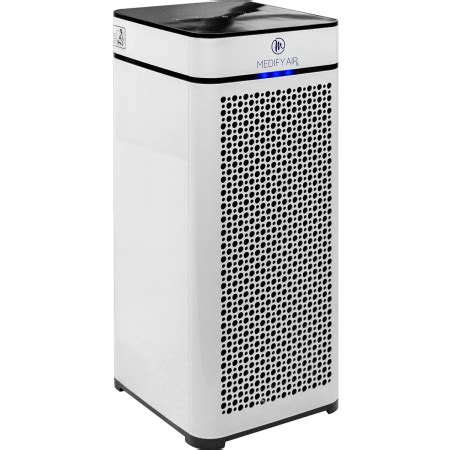 medify air ma 40 grade h13 hepa air purifier for 800 sq ft with particle sensor