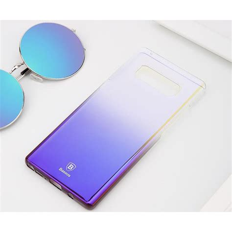 Baseus Glaze Samsung Galaxy Note 8 Casing Cover Baseus Glaze Hardcase For Samsung Galaxy Note 8 Black