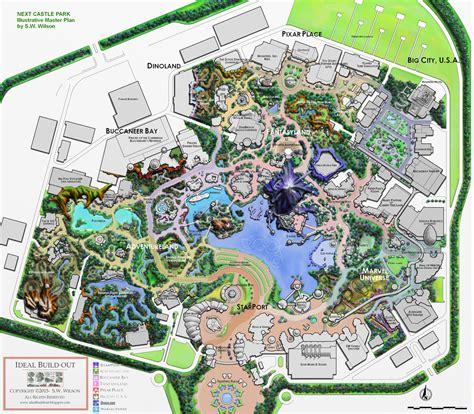 ideal resort map ideal buildout the 2015 project build out