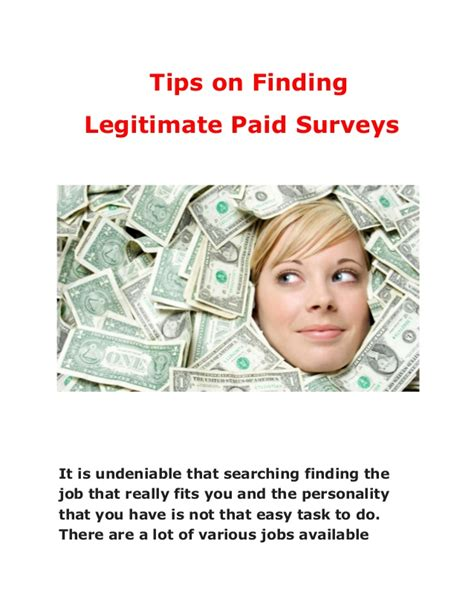 How To Find Legitimate Surveys For Money - tips to earn money by doing survey and free chance to win