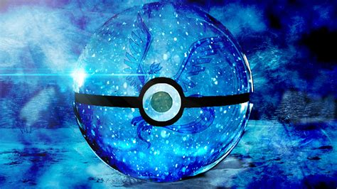 Blue Safir 1a articuno in a pokeball by darkduty12 on deviantart