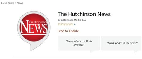 Hutchinson News Will Now Read To You The Hutchinson News News