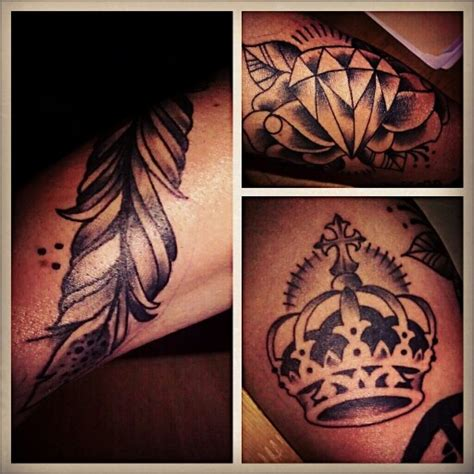 feather crown a tattoo and crowns on pinterest