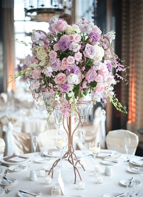 wedding table flower centerpieces pictures wedding centerpiece ideas with candles archives weddings romantique
