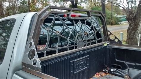 Spider Web Back Rack by Headache Rack For Ford F 150